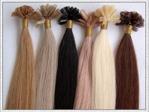 Keratin Pre-Bonded U-Tip/Nail Hair, I-Tip, Stick Hair Hair Extensions pictures & photos