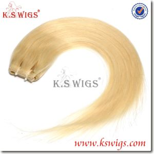 Top Grade Russian Hair PU Skin Weft Hair Extensions pictures & photos