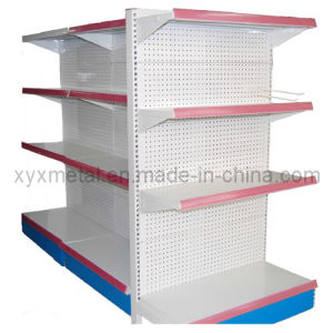 Luxury Goods Store Perforated Back Shelving Supermarket Shelf pictures & photos