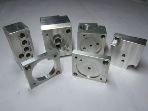 High Precision CNC Machining Parts with Aluminum Parts Auto Spare Parts pictures & photos