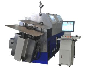 3D CNC Wire Bending Machine for Producing Kinds of Wire Forms pictures & photos