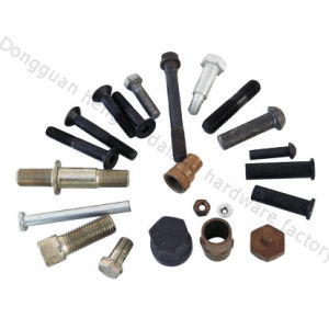 Countersank Head Bolts with Hex Corss and Black Oxide (HK045)