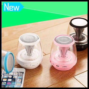 Mini Wireless Portable Mini Bluetooth Speaker with LED Light pictures & photos