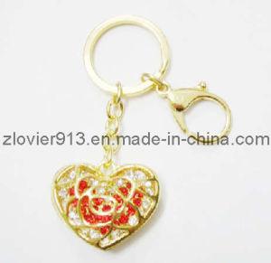 Gold Heart Keychain (ZKC-16)