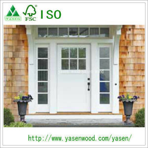 Factory Exterior Finished/Unifinished Wooden Doors