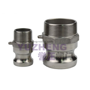 Stainless Steel Male Thread Camlock Coupling pictures & photos