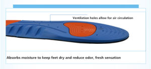 Athletic Insoles with Shock Absorbance or Ultimate Protection pictures & photos
