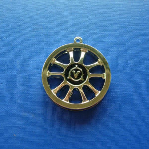 Shaft Wheel Gold Plating Medal, Custom Medal (GZHY-BADGE-007) pictures & photos