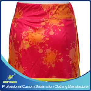 Women ′s Custom Sublimation Lacrosse Clothes for Border Skirt pictures & photos