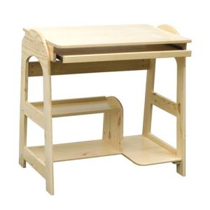 Hot Sales Luxury Pine Computer Standing Desk, Wooden Toy Computer Desk for Kids, Best Seller Computer Desk for Children Wj278318 pictures & photos