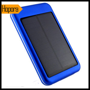 Universal 5000mAh Solar Panel Power Bank Charger Mobile Cell Phone Battery pictures & photos