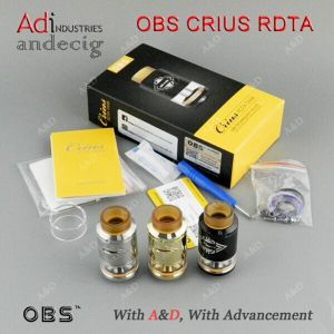 New Arrival Top Dripping 100% Original Atomizer Obs Crius Rdta Tank with 4ml Capacity pictures & photos