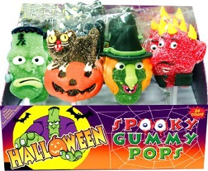 Halloweeen Gummy Pops (23003)