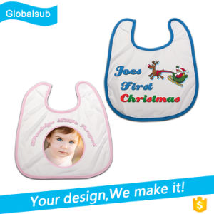 Sublimation Kids Bibs with Heat Press Blank pictures & photos