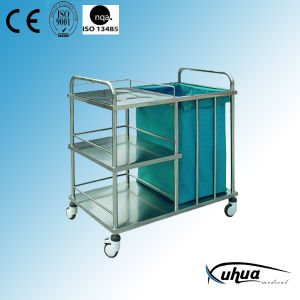 Hospital Trolley for Waste Collection (Q-9) pictures & photos