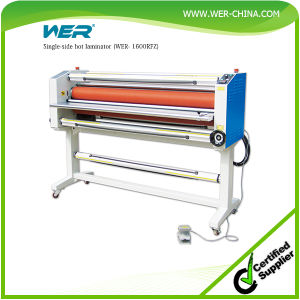 Single-Side Hot Laminator (WER- 1600RFZ) pictures & photos