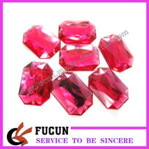 Octagon Acrylic Rhinestones (fcar-V21)