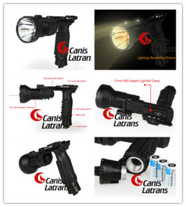 Newwww! LED Tactical Flashlight Cl15-0039 pictures & photos