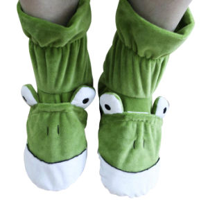 Hot Cold Ice Gel Pack for Pain Relief Beneficial to Human Body Health Animal Frog SPA Socks (P20110)