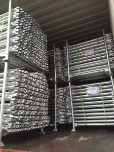 Scaffolding Ledger Horizontal for Ringlock System pictures & photos