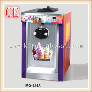 Single Color Commercial Stainless Steel Soft Ice Cream Machine (BS-MQ-L16A)