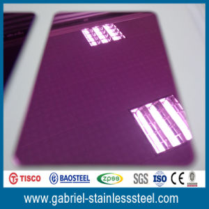 304 201 Colored Decorative 0.8mm Sheet Stainless Steel pictures & photos