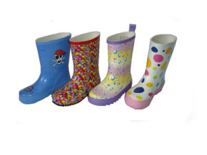 Kids Rubber Boots_Hildren Boots_ Kids Rubber Boots_Rain Boots pictures & photos