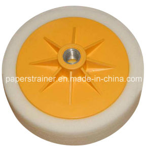 Foam Polishing Pad White 150X45mm pictures & photos