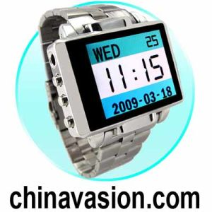 MP4 Watch (1.8′′ LCD - 8GB Excalibur Steel Edition)