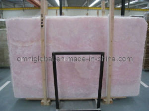 Pink Onyx Marble Slab/ Tile/ Floor Tile/ Mosaic