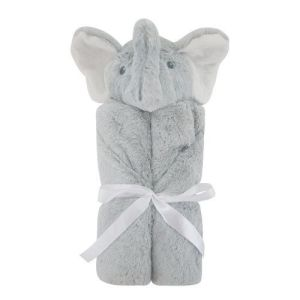 Bearington Baby Cuddle Me Stroller Blanket (Grey Spout Elephant) pictures & photos