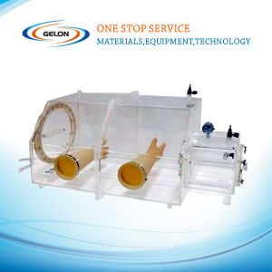 Vacuum Glove Box for Lithium Battery Application with Argon Full Filled (GN) pictures & photos