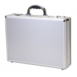 Aluminum Attache Case with Documents Pockets pictures & photos