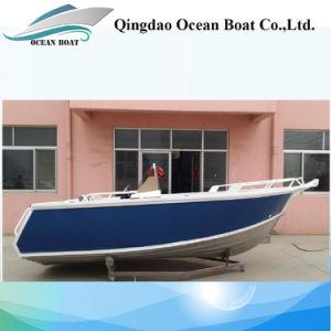 5m Side Console Aluminum Sport Pleasure Fishing Boat pictures & photos