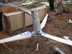 The Process of Install 3KW Wind Turbine Generator
