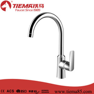 Exquisite Brass Deck Mounted Sink Kitchen Faucet (ZS80705)