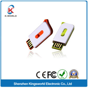 Waterproof Plastic Sliding USB Flash Disk