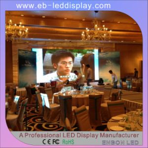 P4mm/P5mm/P6mm/P7.62mm/P10mm Slim Indoor LED Video Display for Hotel, Restaurant pictures & photos