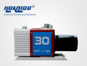 Forced-Oil Lubricated Dual Stage Rotary Spring-Free Vane Vacuum Pump (2RH030C) pictures & photos