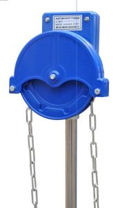 Chained Manual Roll up for Greenhouse (NSA105)