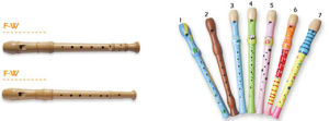 Transparent Plastic Flute for Students Usage pictures & photos