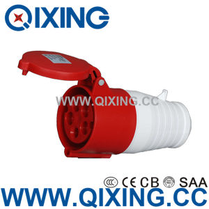 IP44 16A 400V Three Phase 5 Pins Red Industrial Connector pictures & photos