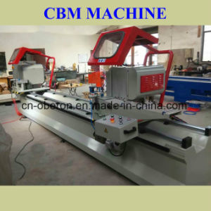 Double Mitre Saw for Aluminium and PVC Window and Door (SSSJ06-3700)