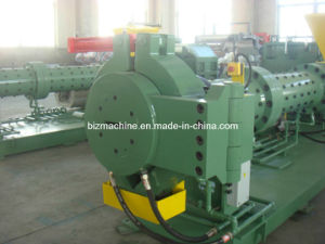 Pin Barrel Cold Feeding Rubber Sheet Extruder pictures & photos