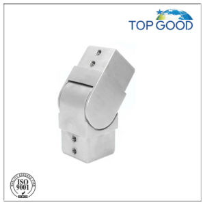 Stainless Steel Flexible Square Slot Tube Connector Downward with Satin Finish pictures & photos