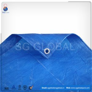 Top Quality 180GSM Blue PE Tarpaulin pictures & photos