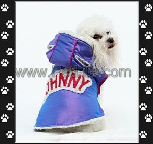 Windproof Pet Apparel / Cotton Dog Coat Hoodies (A7087)