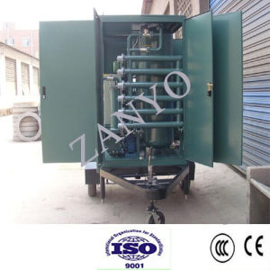 Double-Stage Vacuum Transformer Oil Purifier Suitable for Treating High-Grade Transformer Oil pictures & photos