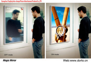Advertising Magic Mirror Light Box