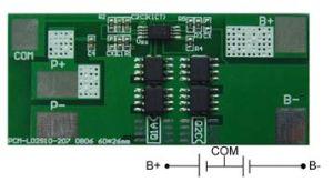 Pcm for 2s LiFePO4 / Li-ion /Li-Polymer Battery Pack